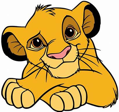 Simba Young Clip Disneyclips Disney Colored