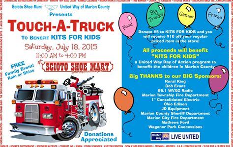 touch  truck   provide school supplies  kids