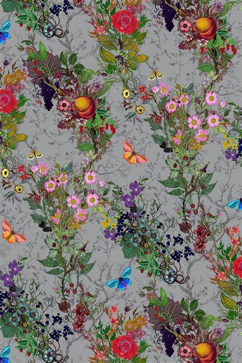 timorous beasties wallcoverings bloomsbury garden wallpaper