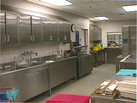 photo  sterile materials processing department