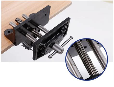 high quality  quick release woodworking vise heavy