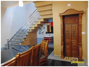 Traditional, Homes, House, Interior, Pooja, Room, Designs, Kerala