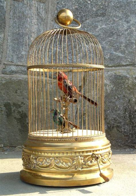 Musical boxes date back to the 19th century and since then they have played both functional and decorative roles. Price My Item: Value of Antique French Brass Bird Cage ...