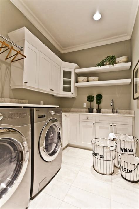 Decorating Ideas For Laundry Rooms by 51 Wonderfully Clever Laundry Room Design Ideas