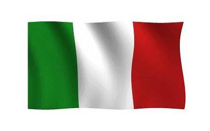 Bandiera Italiana Italia Italy Bandera Animated Waving