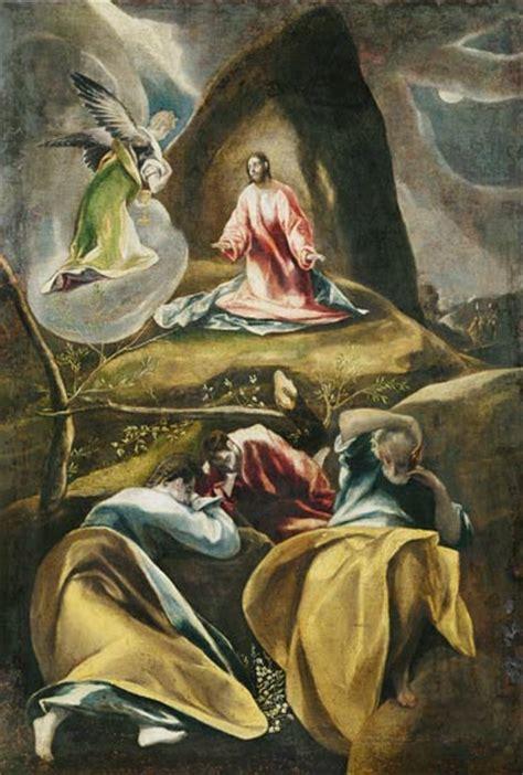 le christ dans le jardin des oliviers tableau el greco