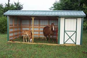small horse barn plans | Horse Barn w/ Tack Room by OK ...