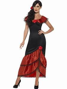 adult flamenco senorita costume 45514 fancy dress ball With robe espagnol