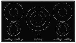 Dimension Plaque Induction : table de cuisson induction 5 foyers smeg se2951id1 privadis ~ Nature-et-papiers.com Idées de Décoration