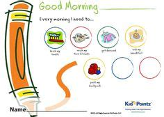 daily routines spl images english vocabulary