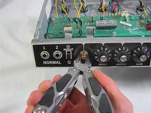 Fender 65 Twin Reverb Input Jack Replacement