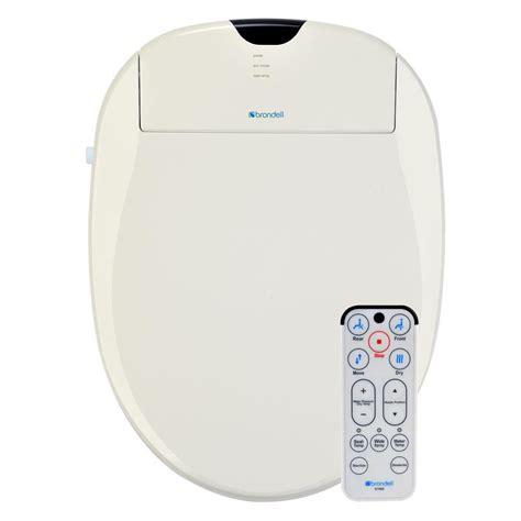 brondell bidets brondell swash 1000 electric bidet seat for toilet