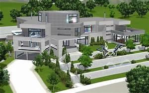Sims 4 Modern House 64x64  U2013 Modern House
