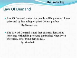 Explain The Law Of Demand  What Are The Exceptions To The Law Of Demand   2019