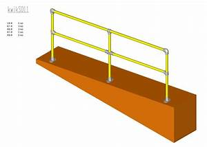 colour coated steel self assembly safety barrier ...