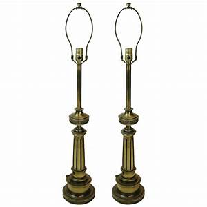 stiffel antique brass desk lamps With brass floor lamp repair
