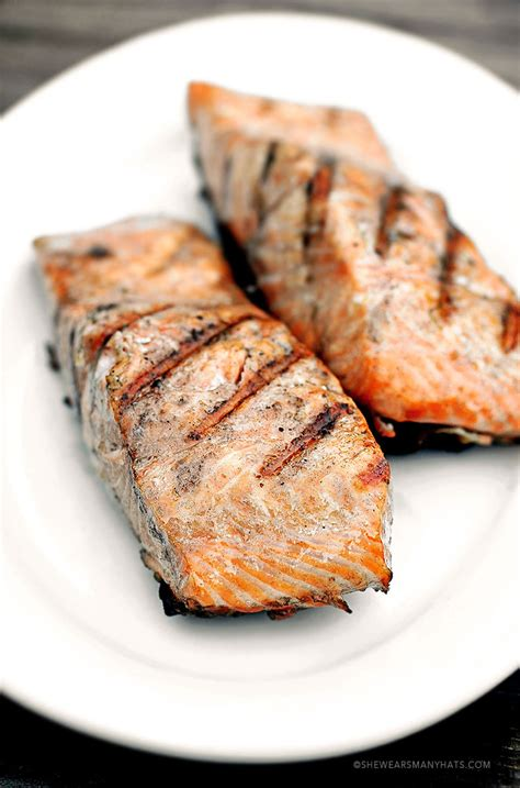grilled salmon recipes perfect grilled salmon recipe she wears many hats
