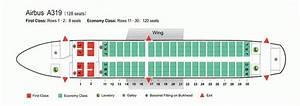 Air China Airlines Airbus A319 Aircraft Seating Chart
