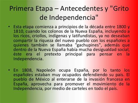 Un Resumen De La Independencia De Mexico by Historia De La Independencia De M 233 Xico