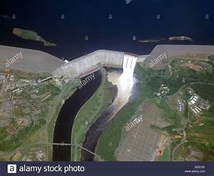 An overview of Guri Dam Venezuela on the Caroni River the ...