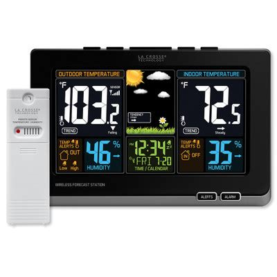 wireless color weather station la crosse wireless color weather station la crosse