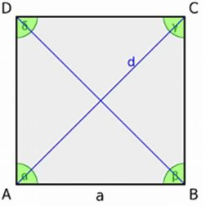 Wie Quadratmeter Berechnen : quadrat geometrie rechner ~ Themetempest.com Abrechnung
