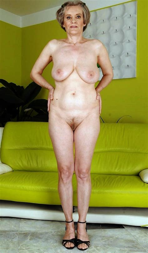 Fully Naked Grannies Are Revealing Their Hot Melons