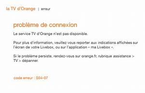 Code Erreur Orange : d codeur tv 4 code erreur s04 07 assistance orange ~ Medecine-chirurgie-esthetiques.com Avis de Voitures