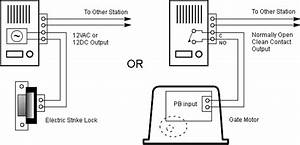 Telephone Intercom Wiring Diagram