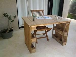 Kleinen Tisch Selber Bauen : 1001 ideen f r schreibtisch selber bauen 21 ideen aus paletten ~ Markanthonyermac.com Haus und Dekorationen