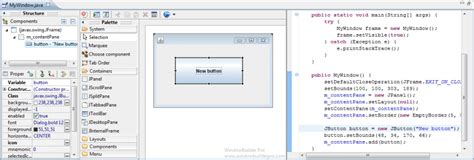 Eclipse Swing Editor Preferences Windowbuilder