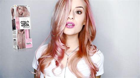 L'orÉal Colorista Review #pinkhair