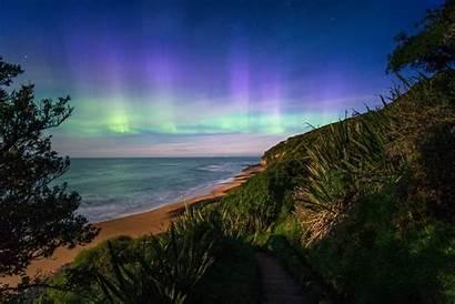 Zealand Aurora Australis Southern Lights Season Want