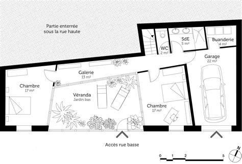 plan maison moderne 5 chambres plan maison moderne avec 4 chambres ooreka