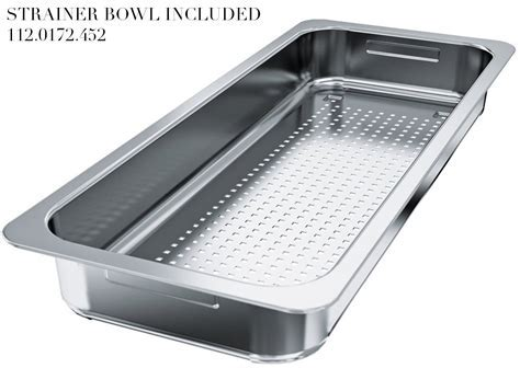 Franke Centinox CEX 210 Stainless Steel 1.0 Bowl Inset