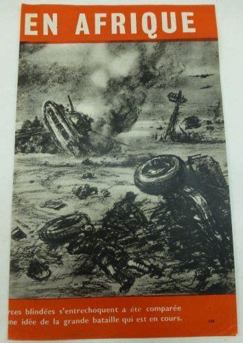 ww propaganda leaflet dropped  french vichy north