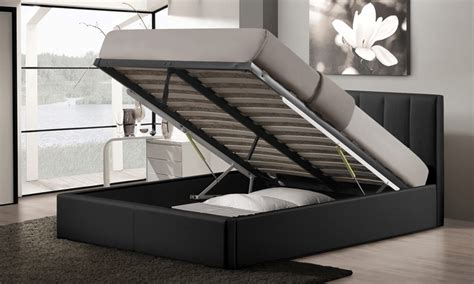 11586 lift storage bed porter size storage bed groupon goods