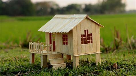 popsicle stick house  kids handmade gallery popsicle stick diy popsicle