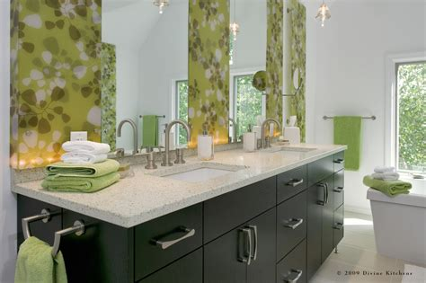 Ideas For Bathroom Countertops by Impressive Recycled Glass Countertops Decorating Ideas