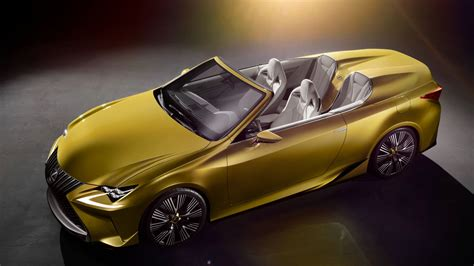 Wallpaper Lexus Lfc2, Supercar, Concept, Gold, Luxury