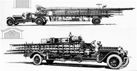 Raleigh's Original American Lafrance Ladder Trucks