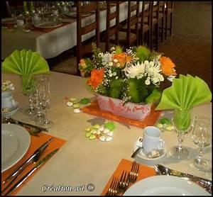Orange Et Vert Dunkerque : decoration de mariage orange et vert id es et d ~ Dailycaller-alerts.com Idées de Décoration