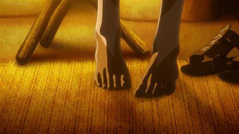 anime feet godzilla  planet eater miana  maina