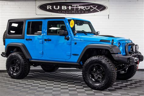 2017 jeep wrangler 2017 jeep wrangler rubicon unlimited chief blue