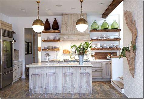 pecky cypress cabinets, open shelving, arteriors hicks
