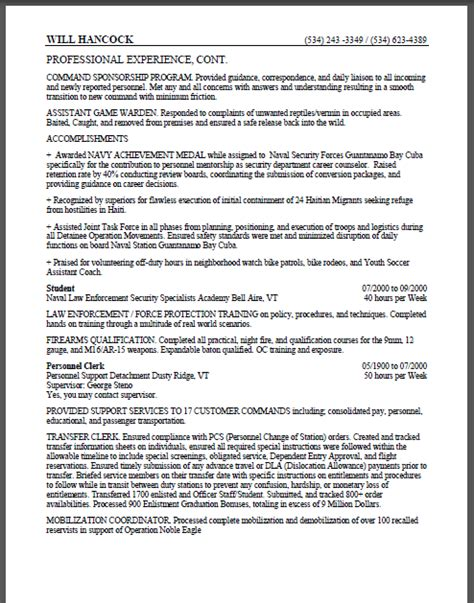 16962 government resume exles federal resume exle usajobs exles of resumes