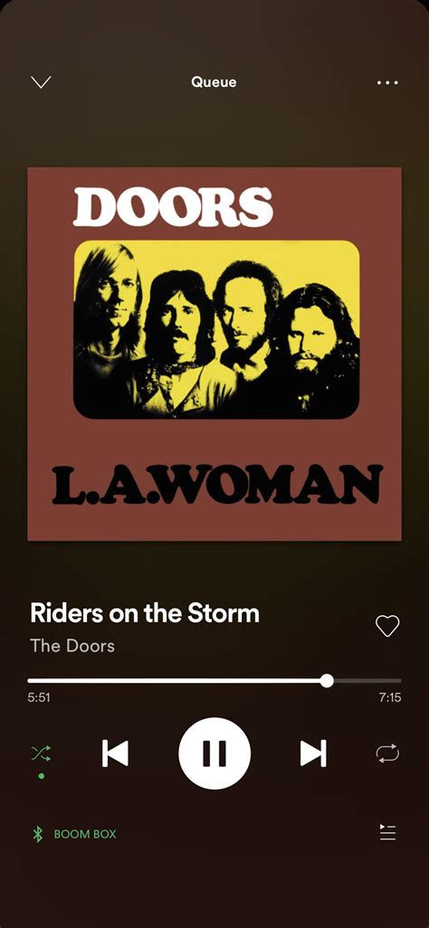 Some other songs are little kids songs, classic everyone knows!! I know everybody loves this song (rightfully so)... but this part 🖤💗🖤 riders on the storm ...