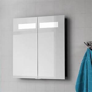 Großer Spiegel Mit Beleuchtung : spiegelschrank mit beleuchtung landhaus ~ Michelbontemps.com Haus und Dekorationen