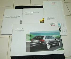 2008 Audi A3 Owners Manual Set 08 Guide W  Case