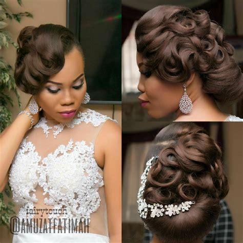 gorgeous wedding hairstyles  nigerian brides  hair